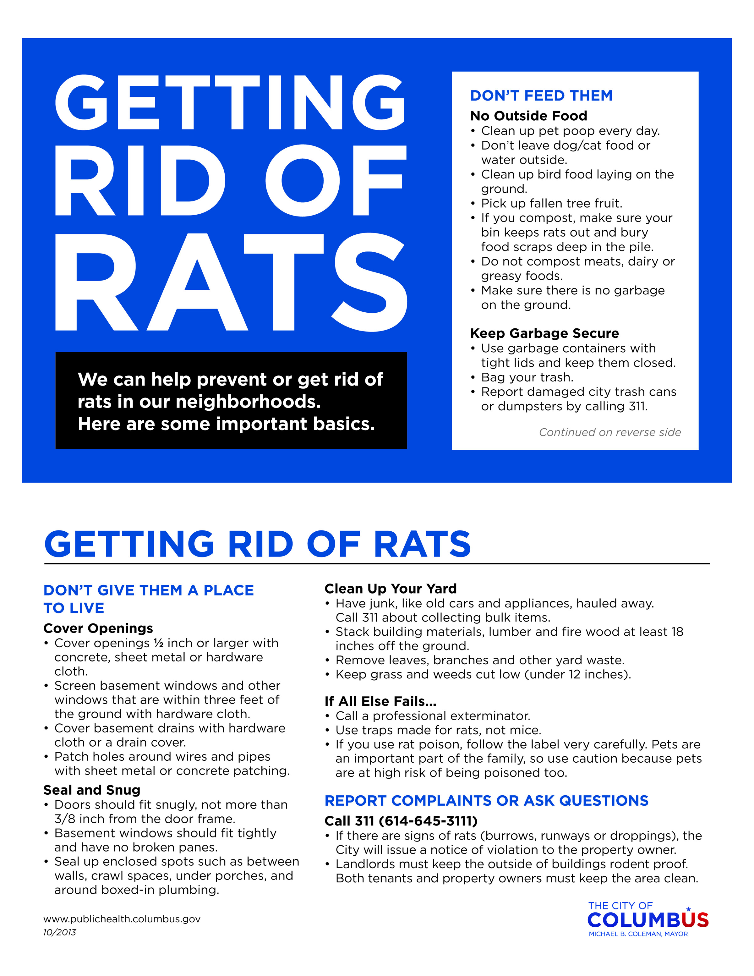 Keeping Rats Out - Rain Barrels - Franklin Soil and Water